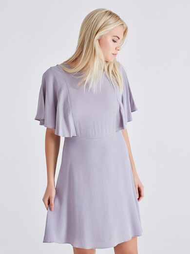 Dress #purple #pastel #dress #fashion #cute #bikbok