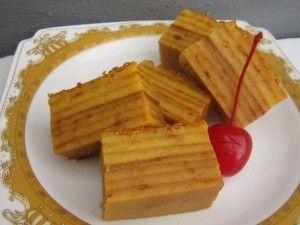 Resep Kue Maksuba khas Palembang