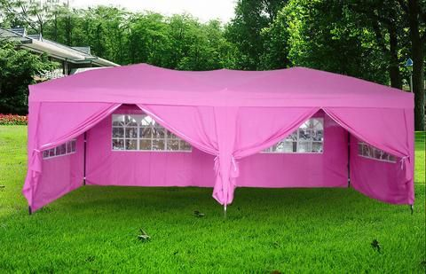 Portable 10x20 Feet Ez Pop Up Canopy Tent Outdoor Party