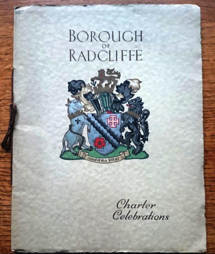 Borough of Radcliffe Charter Celebrations Sept 21st 1935