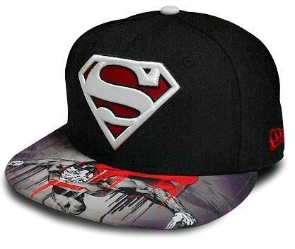 I found  Boné New Era Superman Viza Sic - DC Comics  on Wish 934c386ba0a