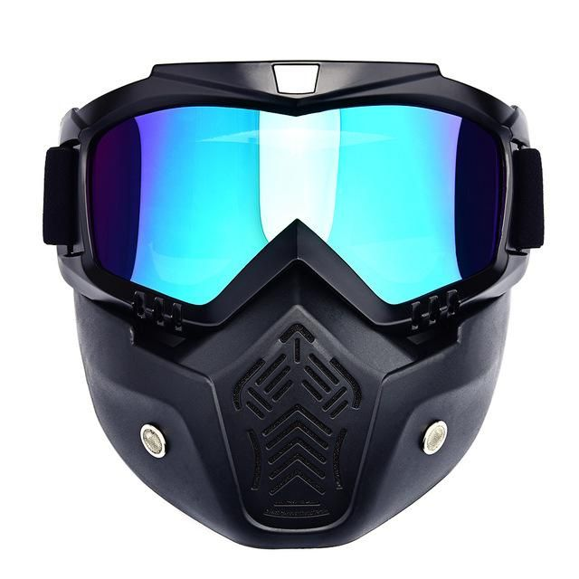 Windproof Skate Sun Ski Glasses Motorcycle Goggles For Masque Motocross Goggles Helmet Glasses off-Road Helmets Mask Goggles