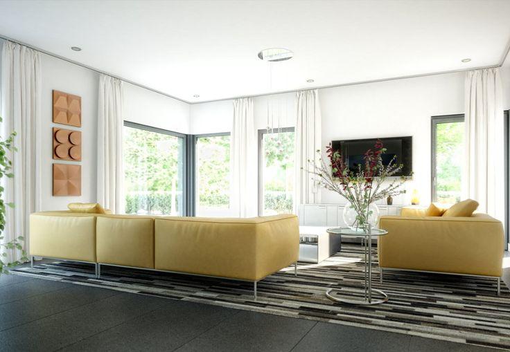 INNENRAUM WOHNZIMMER Haus Celebration 125 V2 Bien Zenker - offene küche und wohnzimmer