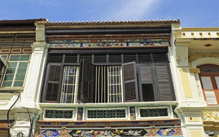 De oude chinese koopmanshuizen zijn typerend voor het oude centrum van Georgetown op Penang. Sla ze niet over tijdens uw rondreis door Maleisië! Rondreis - Maleisië - West-Maleisië - Penang - Georgetown - Original Asia