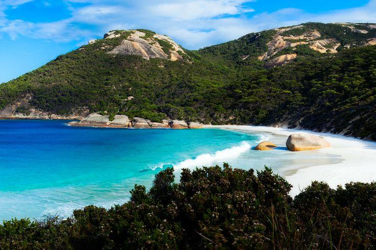 little beach in albany, western australia #travelnewhorizons