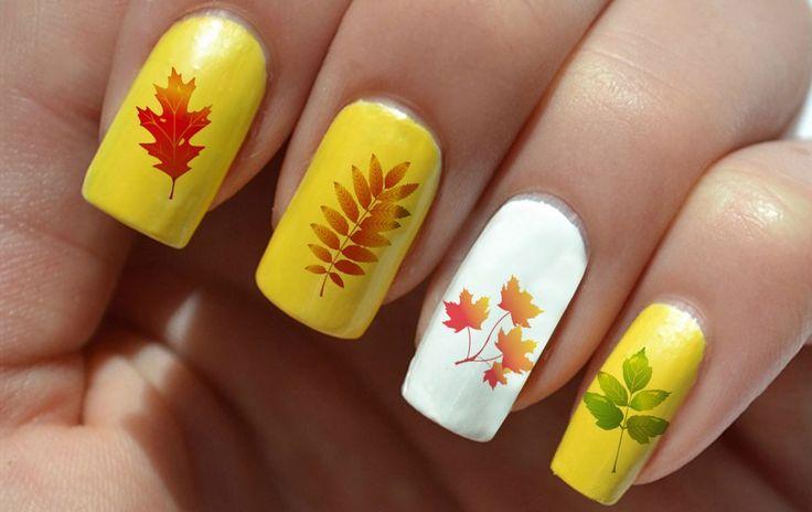 73 best autumn nail art u as para oto o images on - Decoracion de unas fotos ...