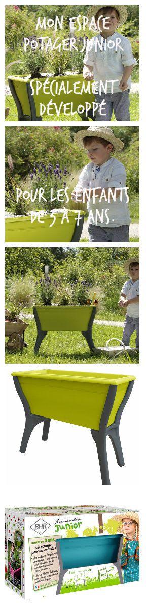 Mon Espace potager : Ludique et pédagogique. Permet d'initier les enfants au jardinage dès 3 ans. poétic-jardin
