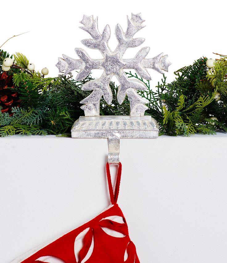 Trimsetter Snowflake Stocking Hanger #Dillards