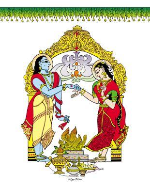 bapu bommalu-Sita Rama Kalyanam