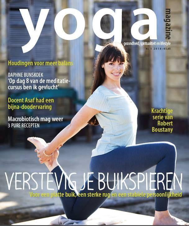 Yoga Magazine 2014 -1 Verstevig je buikspieren: voor een platte buik, een stevige rug en een stabiele persoonlijkheid.