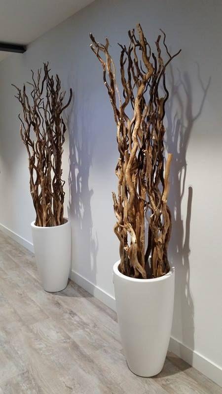 138 best decoratie takken images on pinterest branches for Bloemen decoratie