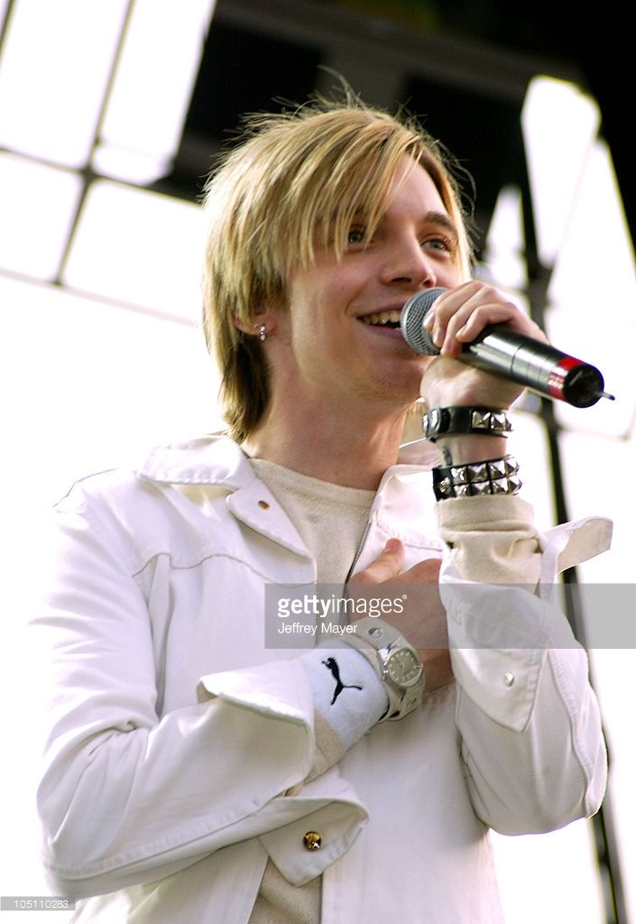 Alex Band of The Calling during 102.7 KIIS FM's Wango Tango 2003 - The Ultimate Reality Show at Rose Bowl Stadium in Pasadena, California, United States. (Photo by Jeffrey Mayer/WireImage)