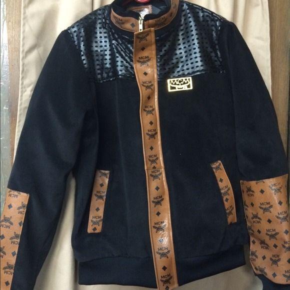 MCM jacket Mesh with leather MCM Jackets & Coats