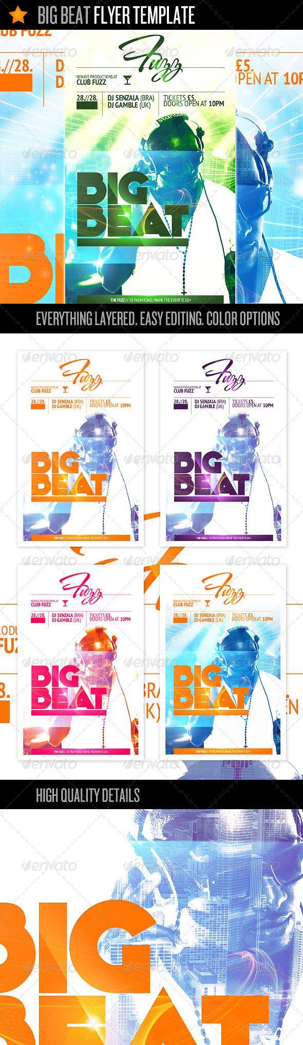 Big Beat - Flyer Template