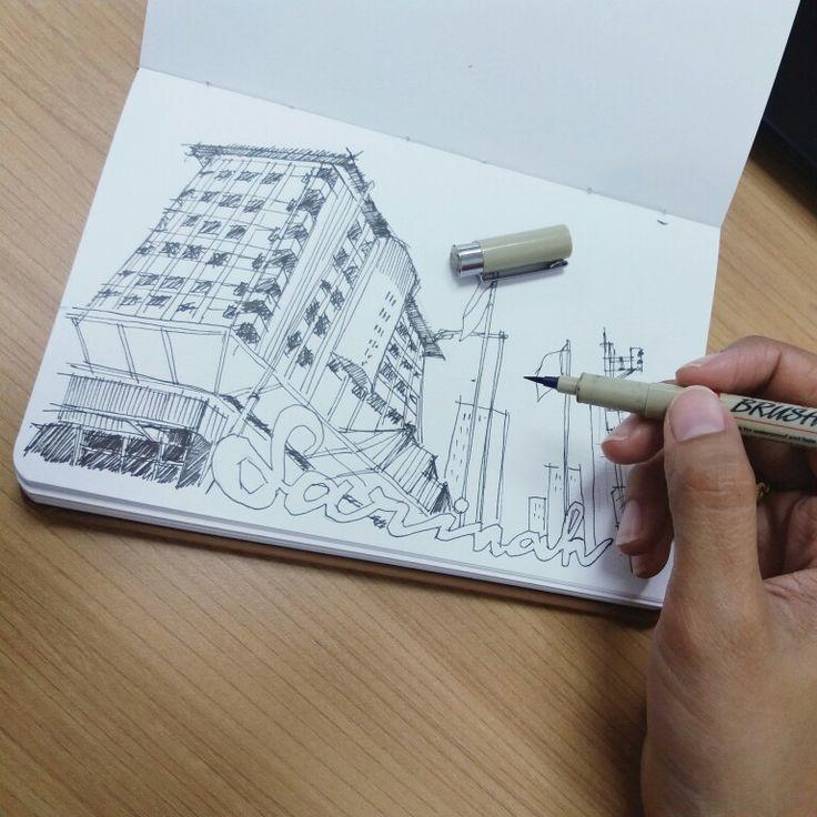 Sketching Sarinah