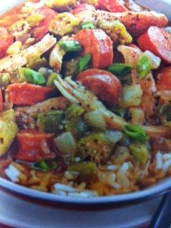 Easy crockpot recipes: Chicken and Sausage Gumbo Crockpot Recipe