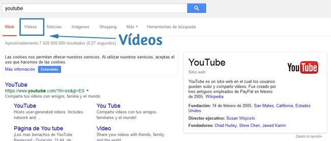 Vídeos Youtube en los resultados de búsqueda http://www.santinavarro.es/como-abrir-correo-electronico-google-hotmail-yahoo/