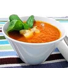 Andalusisk soppa med kyckling och saffran - Recept - Tasteline.com