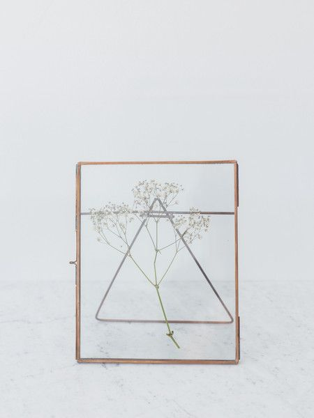 Glass Copper Frames from Nukuku