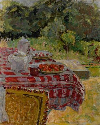 Pierre Bonnard, Les Fraises (Strawberries), 1910.