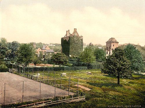 Beautiful A4 Glossy Print 'Kilmarnock - Dean Castle' Scotland - Taken From An Original Vintage Photocrom Image Circa 1900 by Unknown http://www.amazon.co.uk/dp/B0077TBJUM/ref=cm_sw_r_pi_dp_.Xinvb168HJYQ