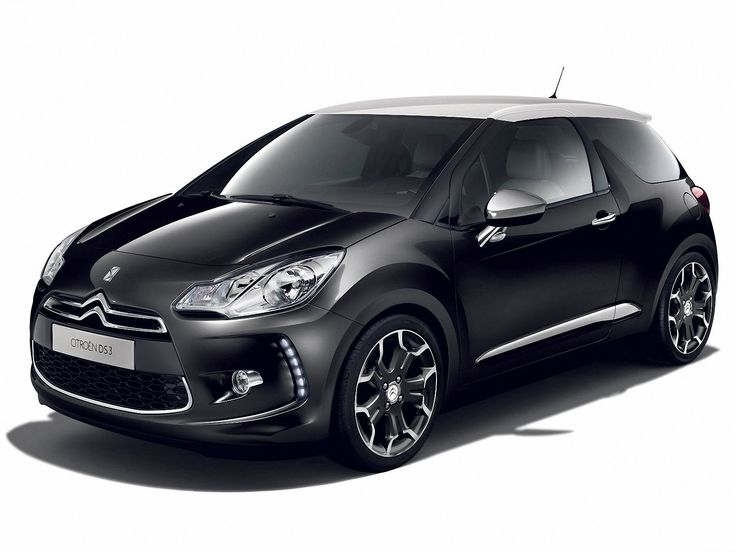 Black Citroen DS3 5