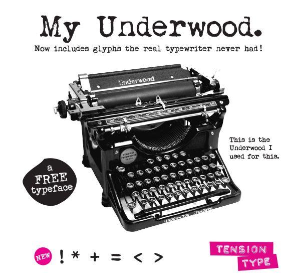 La tipografía máquina de escribir (typewriter font) es una fuente muy utilizada en diseños vintage. Descarga gratis este tipo de tipografías.
