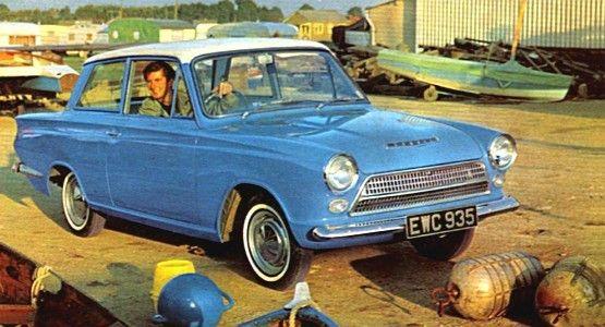 Ford Consul Cortina, 1962