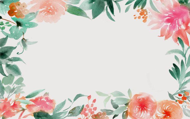 Watercolour Desktop Background
