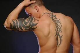 I love tattoos on hunky men
