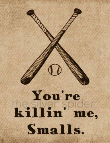 Sandlot-- Jess, this cracked me up!! Did you or josh watch this movie?!