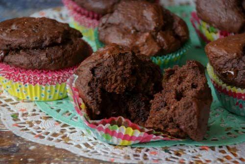 Banaan-chocolade cupcakes