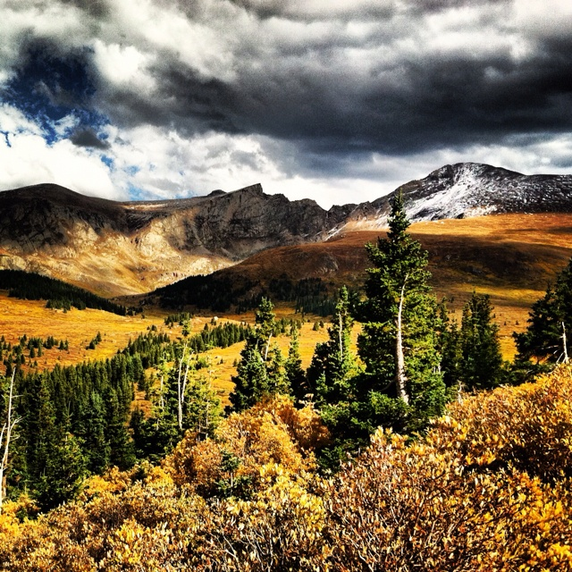 Mt. Evans & Mt. Bierstadt - Rocky Mountains, Colorado