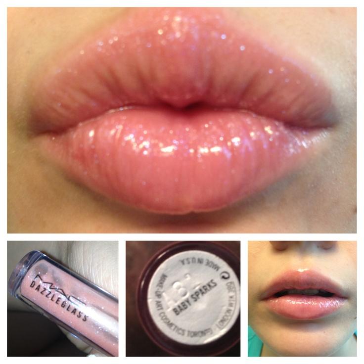 Favorite spring/summer lip gloss! Mac dazzle glass in baby ...