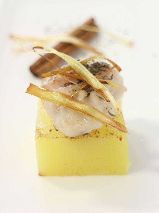 taco de bacalao con patata a la canela Www.dosyemas.com