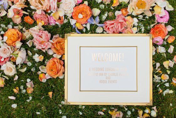 Photography: c.m. elle studios // Design + Coordination: ROQUE Events // Floral Design: Mae Flowers // Bridal Gown: JINZA Couture Bridal // Venue: Harvest Inn by Charlie Palmer // Rentals: Encore Event Rentals // Vintage Furniture Rentals: Pieces by Violet // Linen: La Tavola Linen // Stationery: Laura Lambrix Designs // Music: Ivy Hill Entertainment // Live Event Painter: Nataliya Tyaglo