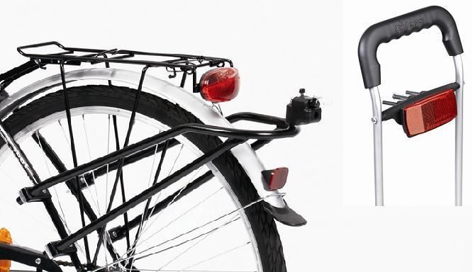 VIKTIG : MED EASY SNAP Andersen Fahrrad-Anhänger-Kupplung Fahrradkupplung Einkaufstrolley Royal Shopper