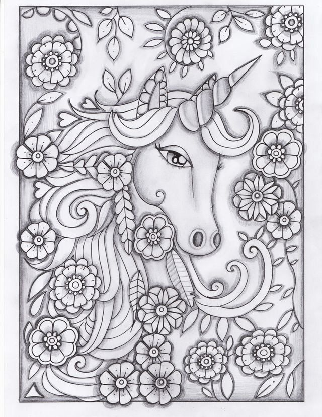 Coloring Pages For Adults Unicorn Fresh Pin By Erin Smith On Colouring  Pages Unicorn Coloring Pages, Printable Coloring Pages, Coloring Pages