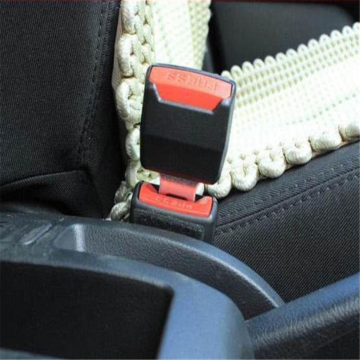 2Pcs / Set Newest Universal Car styling 2 Colours Choosen Car Auto Supplies Seat Belt Clip Safety Belts Buckle With Plug