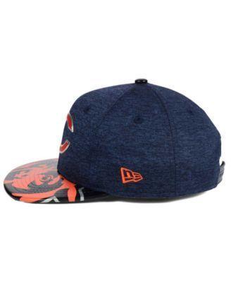 New Era Boys' Chicago Bears 2017 Draft 9FIFTY Snapback Cap - Navy/Orange Adjustable
