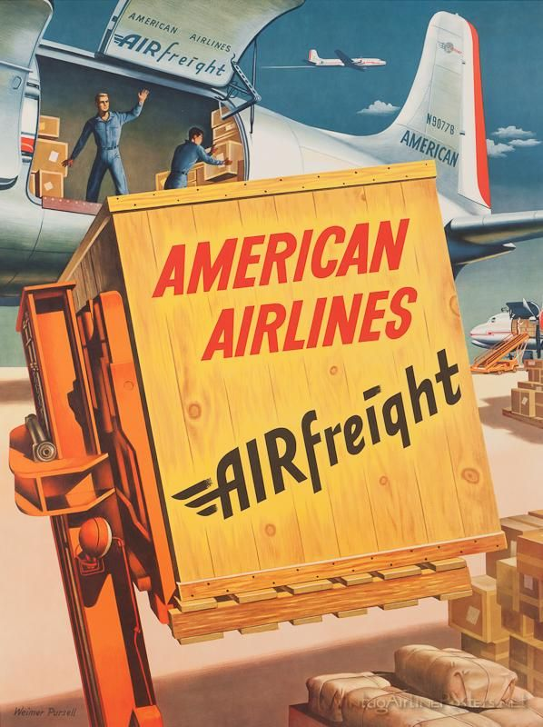American Airlines airfreight.