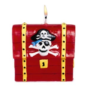 "Pirate's Treasure Candle (2.25"" x 2.75"")"
