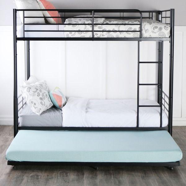 best 25 trundle bed frame ideas only on pinterest girls trundle bed trundle beds and full size trundle bed - Steel Frame Bed