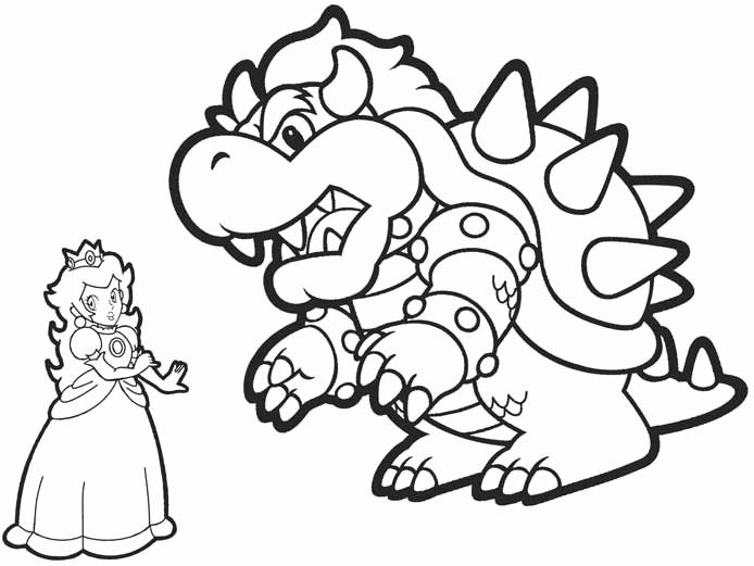 Bowser Jr Coloring Pages Printable In 2020 Mario Coloring Pages Super Mario Coloring Pages Coloring Pages