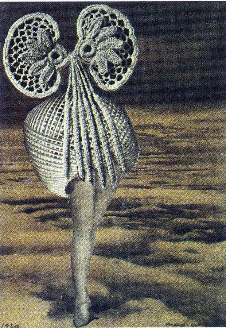 Max Ernst, 'Above the clouds' (1920)