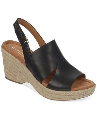 Naturalizer Olivia Platform Wedge Sandals - Wide & Narrow Widths - Shoes -  Macy's