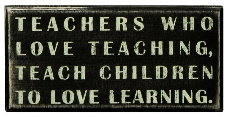Amazon.com - Primitives By Kathy Box Sign, Teachers Who Love - Decorative Signs