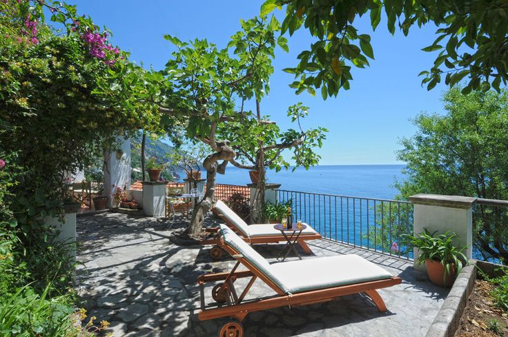 Casetta degli Angeli Campania & the Amalfi Coast Sleeps up to 4. Set in the gardens of a private estate in Positano, this is a charming little family villa, with sublime sea views from its terrace, a shared swimming pool, and steps to a sleepy beach cove.