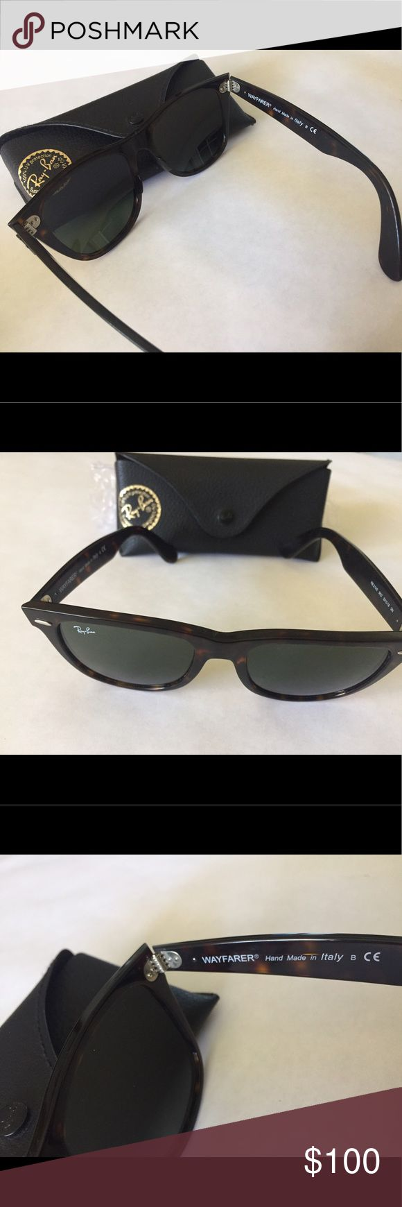 Ray-Ban Wayfarer Ray-Ban Wayfarer used couple times good condition. Case included ask if you have questions Ray-Ban Accessories Sunglasses