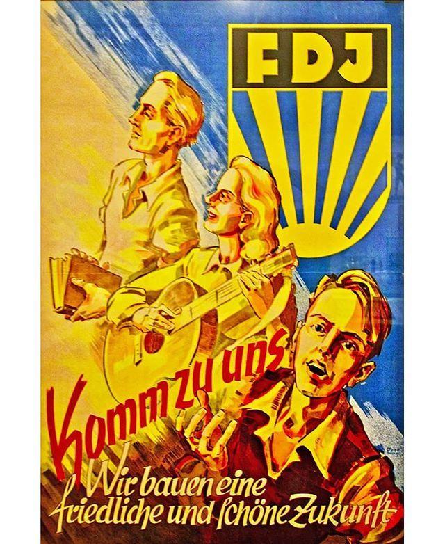 Die Freie Deutsche Jugend Fdj Ist Ein Kommunistischer